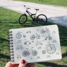 Day 19 of #The100DayProject Bicycle. #100DaysOfDrawingThingsInDifferentVariations