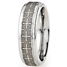 Devout Collection SK Cobalt Men's Wedding Ring