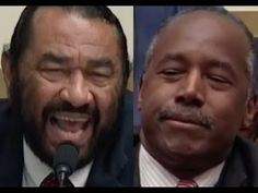 """ANSWER THE QUESTIONS!!!"" Al Green GETS PISSED OFF & DESTROYS Ben Carson on Trump's Budget - YouTube"