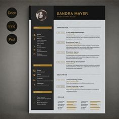 Resume Template B by on Creative Market ---CLICK IMAGE FOR MORE--- resume how to write a resume resume tips resume examples for student Resume Tips, Resume Cv, Resume Writing, Resume Examples, Resume Ideas, Manager Resume, Resume Design Template, Creative Resume Templates, Cv Template