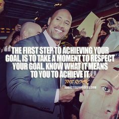 Dwayne Johnson Achieve Your Goal Quote http://addicted2success.com/quotes/24-dwayne-johnson-motivational-picture-quotes/