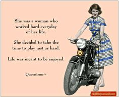 Queenisms are original trademarked works of art by authors, Cindy Ratzlaff and Kathy Kinney, who blog and write books about claiming happiness in midlife at http://QueenofYourOwnLife.com. All of their affirmations and digital art are original.