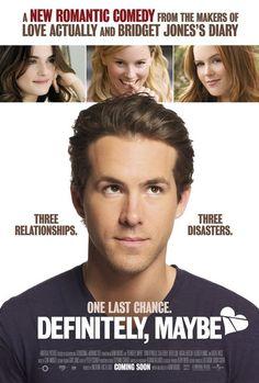 Rachel Weisz, Ryan Reynolds, Elizabeth Banks, and Isla Fisher in Definitely, Maybe Isla Fisher, Bridget Jones, Rachel Weisz, Ryan Reynolds, See Movie, Movie List, Film Movie, Definitely Maybe, Romantic Comedy Movies