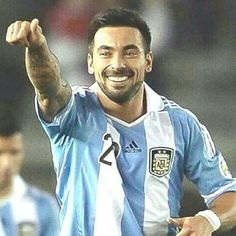 Hottest Bearded Men Of The World Cup-Ezequiel Lavezzi (Argentina)