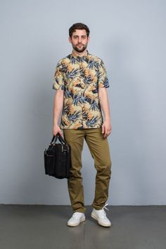 Norse Projects Aaron Botanical SS Shirt