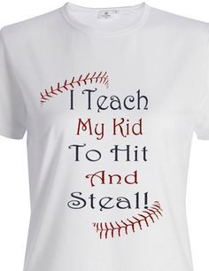 Baseball T Shirts on Pinterest