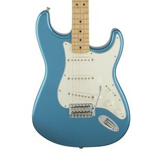 Fender Standard Stratocaster with Maple Fingerboard - Lake Placid Blue
