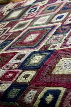 Babette Blanket, i want to make one of these