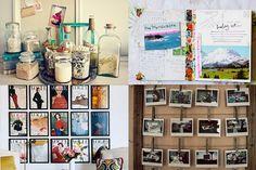 Home Inspiration: 21 Ways To Display Travel Keepsakes, Old Photos