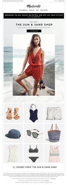 follow me /cushite/ Madewell | newsletter | fashion email | fashion design | email | email…