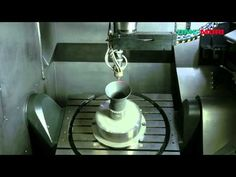 Hybrid: Direct Metal Printing and machining Metal particles blown at Mach5 fuse together into a very dense material using numeric controls, the a metal machining head refines rough edges. The will be the norm for airlines and aerospace in the future. -Hybrid ( Additive and Subtractive manufacturing) machine by DMG Mori - YouTube