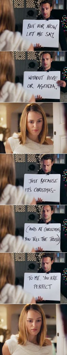 "Brb gotta go watch ""Love Actually"""
