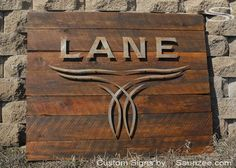 Saunzee Large 3D Rustic Rough Sawn Timber Wood Sign Offset Rusty Metal Laser Cut Out Sign Lane Boots Show Room Sign Western Looking Sign