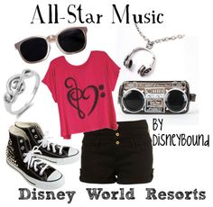 All Star Music Resort by Disney Bound
