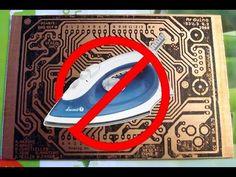 DIY New PCB Toner Transfer -- NO Soaking, Just peel off backing - YouTube