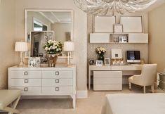 Olá queridas seguidoras, quando vi este quarto fiquei deslumbrada, amo de coração este espaço. Realizado pela decorad...