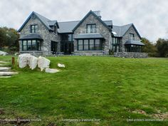 A comtemporary residence in traditional style on the shore of Kenmare Bay in Ireland. Simple Style, Future House, Architects, Ireland, Cabin, House Design, Traditional, Mansions, House Styles