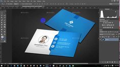 Illustrator tutorial graphic design infographic sleek webdesign clean modern business card adobe photoshop professional business card reheart Image collections