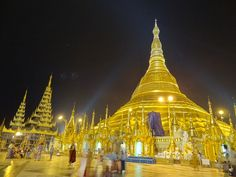 This gem-encrusted temple is said to contain some of the Buddha's hair which can make the deaf hear and the blind see