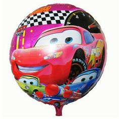 18inch Round Happy Birthday ballons decoration Cars Balloon for Party Supplies #>=#>=#>=#>=#> Click on the pin to check out discount price, color, size, shipping, etc. Save and like it!
