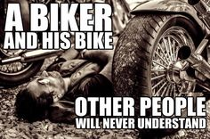A BIKER And His BIKE Other People Will Never Understand #biker #bike #motorbike #bikerquotes #riding #biking #bikeriding #bikelife Sexy Tattoos For Women, Perfect Body Shape, Riding Quotes, Bike Quotes, Bike Life, Sexy Body, Other People, Human Body, Monster Trucks