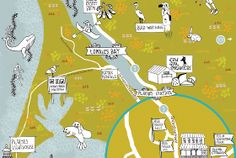 Big Sur - Wedding Maps