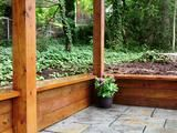 Retaining wall ideas YOU can build yourself. Cut costs by building a retaining wall DIY from cinder block, wood, stone or concrete yourself! Wooden Retaining Wall, Railroad Tie Retaining Wall, Cheap Retaining Wall, Retaining Wall Design, Building A Retaining Wall, Building A Deck, Fence Design, Garden Design, Retaining Walls