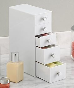 Another great find on #zulily! Five-Drawer Tower Organizer #zulilyfinds