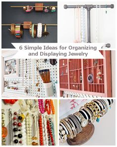 6 Ways to Organize and Display Your Jewelry