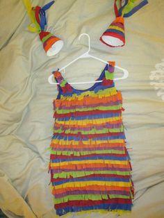 SimplistiCreations DIY piñata costume