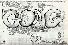 Gong at CBGB's flyer