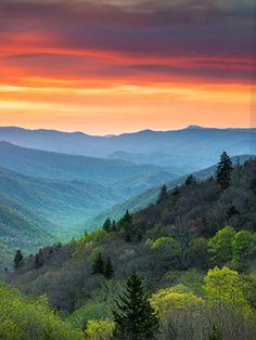 Blue Ridge Mountains, Great Smoky Mountains, Mountain Wallpaper, Asheville Nc, Poppies, Sun, Landscape, Smoky Mountain