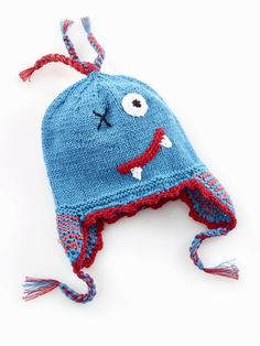 Scary Monster Hat  $19.50   -Warm and fun -Stylish -Kids style  -Creative  -Fair trade -Country: Bangladesh