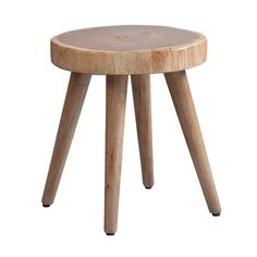 Experience all of the variations that nature can offer. Authentic organic tree rings feature the color variations and wood shapes of each hand crafted piece. Use as dining stools or as a set of accent tables.