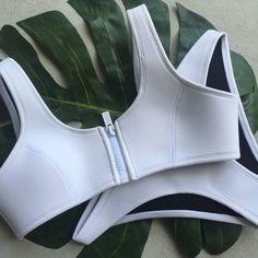 NIKKI - WHITE | hoaka swimwear
