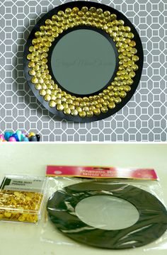 Sunburst Mirror | Click Pic for 26 DIY Living Room Decor on a Budget | DIY Living Room Decorating Ideas