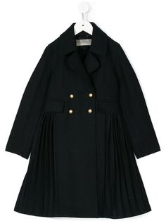Ermanno Scervino Junior pleated coat