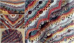 Hi Crochet Lovers! Today i want show you this stunning shawl pattern from BistitchualE on ravelry.