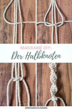 Einfache DIY Makramé-Blumenampel für deine Yogaecke DIY: Knot a simple macramé flower basket and give your yoga corner a boho vibe! The half knot and the half knot spiral are explained to you in this manual step-by-step! Diy Bracelets Easy, Bracelet Crafts, Gold Bracelets, Braclets Diy, Macrame Bracelets, Diy Bracelet Boho, Diy Bracelets With String, Summer Bracelets, Anklet Bracelet