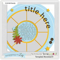 8 photos  -  March Blog Challenge - Limited Time Free Digital Scrapbook template by Scrapping with Liz