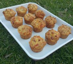 Ham and Cheese Muffins – Twins And A Blog
