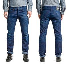 NEW Mens REPLAY ZELAN W-30 L-34   Regular Straight Jeans