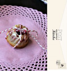 Mini Cake - Amaretto - Strawberry / Gugl Amarettorahm - Erdbeere