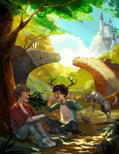 Marauders! You envision James, Remus, Sirius and Peter having all sorts of high-flying adventures on the Hogwarts grounds but if I know teenagers, AND I DON'T, I imagine they mostly just dicked around.