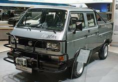 VW T3 Doka Syncro Tristar (1988) Vw Doka, Vw T3 Syncro, Vw Bus, Transporter T3, Audi, Porsche, Vw Pickup, Car Goals, Backyard Fences