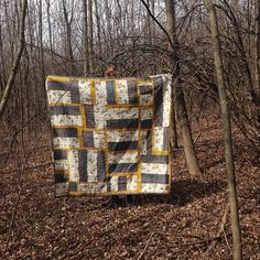 """Quilt by Heidi Parkes, """"Flower Fence."""" #quilt"""