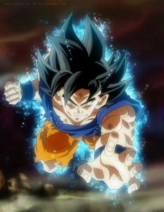Goku new form youngjijii by SenniN-GL-54