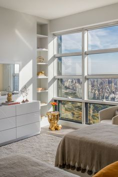 Luis D. Ortiz and Ryan Serhant's Listing: West 57th, Listing Price, $16M The apartment was built in 1986. [Photo: Evan Joseph and Tim Waltman]