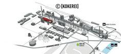Das ist unser Standort auf dem Zeche Zollverein Areal!