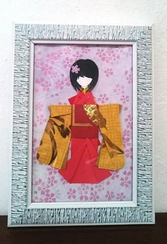 Japanese Origami, Japanese Paper, Cute Bookmarks, Red Packet, Origami Bookmark, Light Crafts, Book Lovers Gifts, Golden Yellow, Paper Dolls